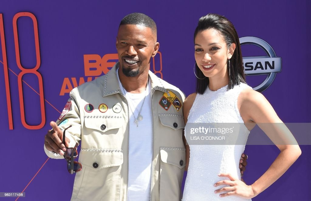 US-ENTERTAINMENT-BET-AWARDS-ARRIVALS : News Photo