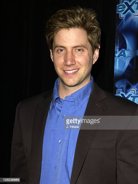 Host Jamie Kennedy during ShoWest 2003 Awards Show and Backstage at Paris Hotel in Las Vegas NV United States