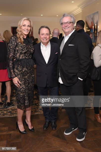 Host Jamie Tisch BMI VP Creative Jody Williams and Country Music Hall of Fame CEO Kyle Young attend the Country Music Hall Of Fame And Museum...