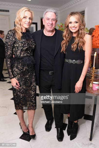 Host Jamie Tisch Vector Management Founder and CoPresident Ken Levitan and musician Carly Pearce attend the Country Music Hall Of Fame And Museum...
