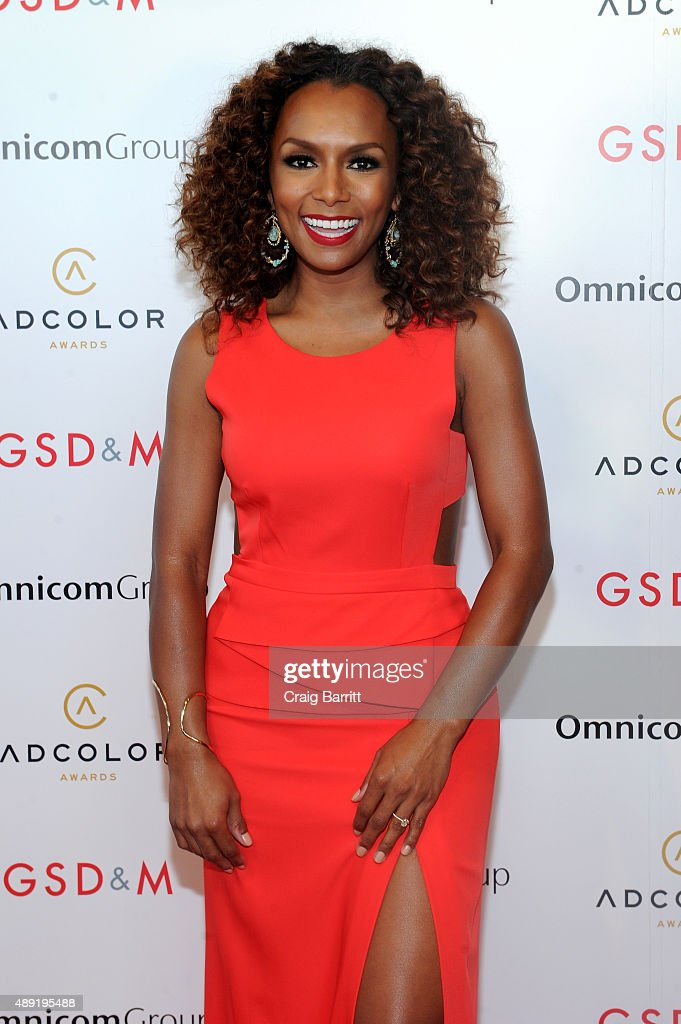Host Janet Mock attends the 9th Annual ADCOLOR Awards at Pier 60 on September 19, 2015 in New York City.