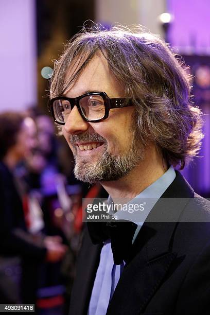 Host Jarvis Cocker attends the BFI London Film Festival Awards at Banqueting House on October 17 2015 in London England