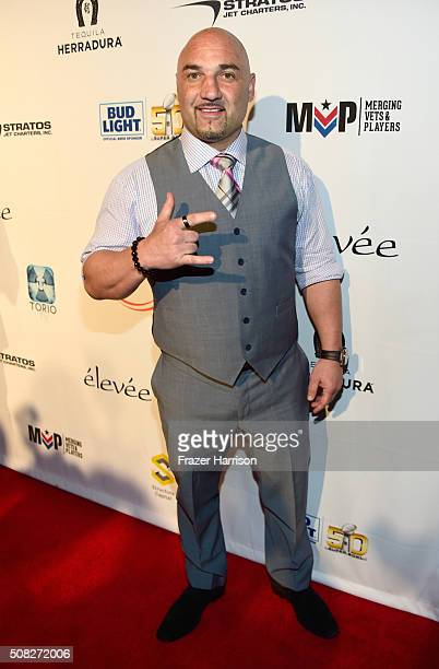 Host Jay Glazer attends Glazer Palooza and Suits and Sneakers on February 3 2016 in San Francisco California