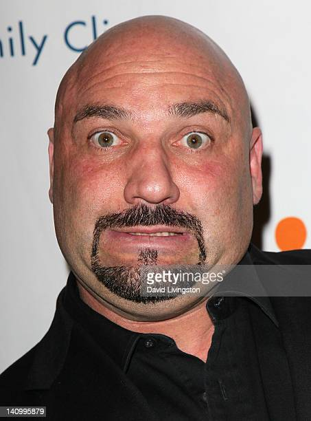 TV host Jay Glazer attends the annual Silver Circle Gala to benefit the Venice Family Clinic at the Beverly Hilton Hotel on March 6 2012 in Beverly...