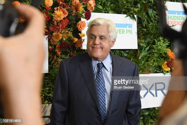 Host Jay Leno attends the 20th Anniversary Gala to celebrate Hudson River Park at Pier 60 on October 11 2018 in New York City
