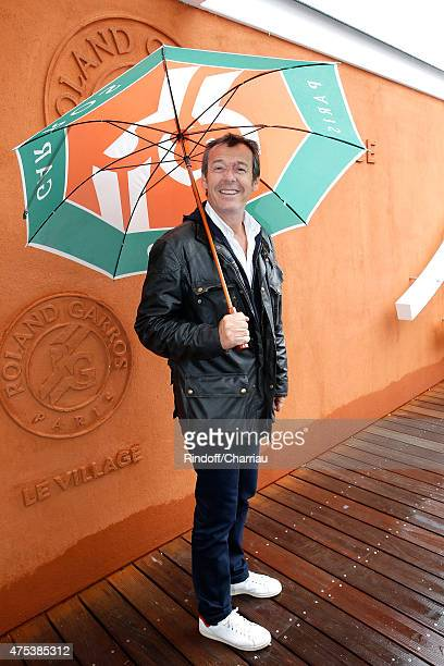 Host Jean-Luc Reichmann attends the 2015 Roland Garros French Tennis Open - Day Eight, on May 31, 2015 in Paris, France.