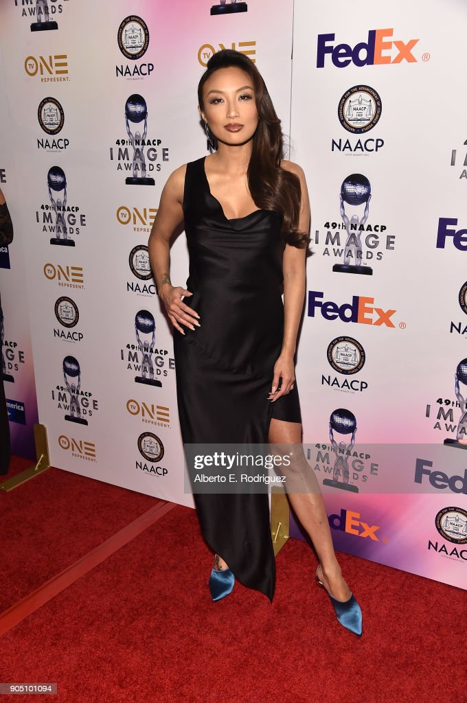 TV host Jeannie Mai attends the 49th NAACP Image Awards Non-Televised Award Show at The Pasadena Civic Auditorium on January 14, 2018 in Pasadena, California.