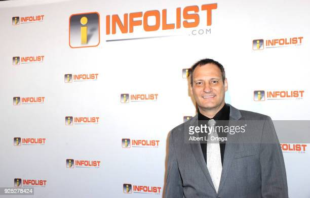 Host Jeff Gund attends the INFOListcom's PreOscar Soiree and Jeff Gund Birthday Party held at Mondrian Sky Bar on February 27 2018 in West Hollywood...