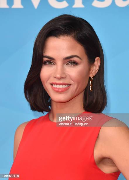 TV host Jenna Dewan attends NBCUniversal's Summer Press Day 2018 at The Universal Studios Backlot on May 2 2018 in Universal City California