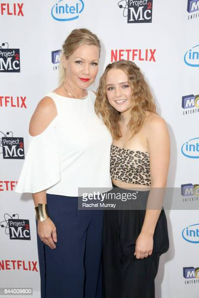 Host Jennie Garth and daughter Lola Ray Facinelli attend the Netflix Series Project Mc2 Part 5 Premiere hosted by Jennie Garth and MGA Entertainment...