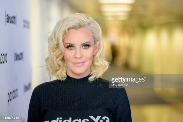 Host Jenny McCarthy as Rapper LL Cool J visits The Jenny McCarthy Show at SiriusXM Studios on November 19 2019 in New York City