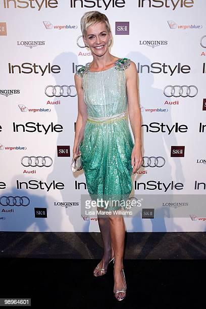 TV host Jessica Rowe attends the InStyle and Audi Women of Style Awards at Australian Technology Park on May 11 2010 in Sydney Australia