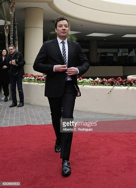 Host Jimmy Fallon attends the 74th Annual Golden Globes Preview Day at The Beverly Hilton Hotel on January 4 2017 in Beverly Hills California