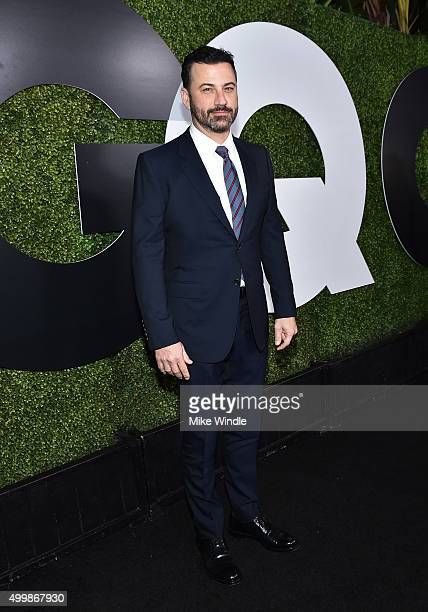 TV host Jimmy Kimmel attends the GQ 20th Anniversary Men Of The Year Party at Chateau Marmont on December 3 2015 in Los Angeles California