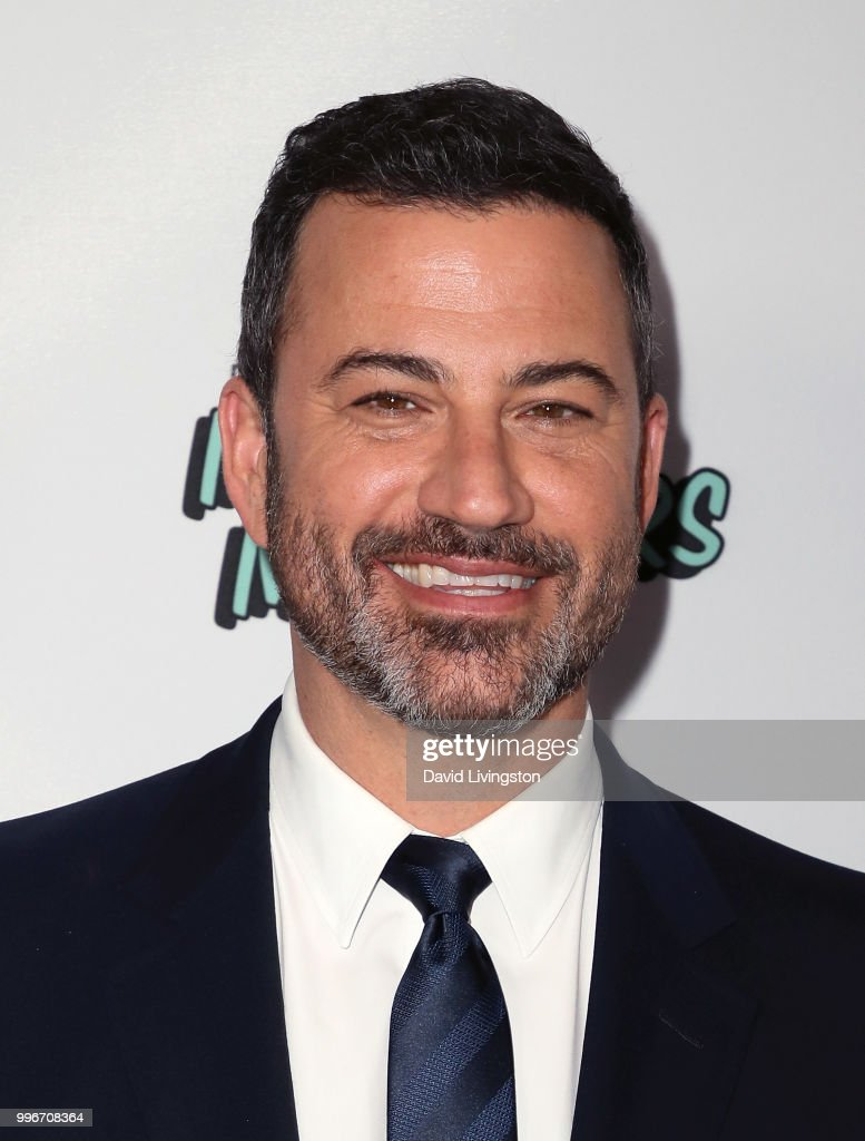 TV host Jimmy Kimmel attends the premiere of truTV's 'Bobcat Goldthwait's Misfits & Monsters' at the Hollywood Roosevelt Hotel on July 11, 2018 in Hollywood, California.