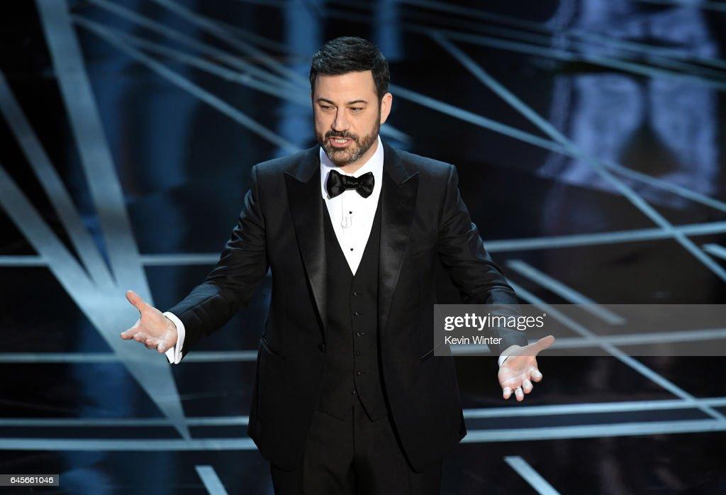 89th Annual Academy Awards - Show : News Photo
