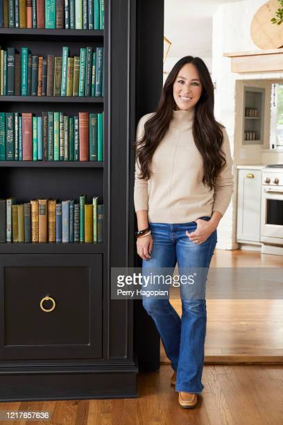 Host Joanna Gaines is photographed for People Magazine on October 2, 2018 in Waco, Texas.