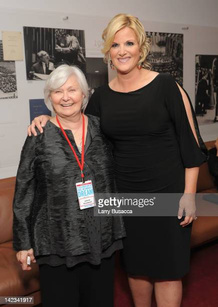 Host Joanne Woodward and singer Trisha Yearwood attend a Celebration of Paul Newman's Dream to Benefit the SeriousFun Children's Network at Avery...