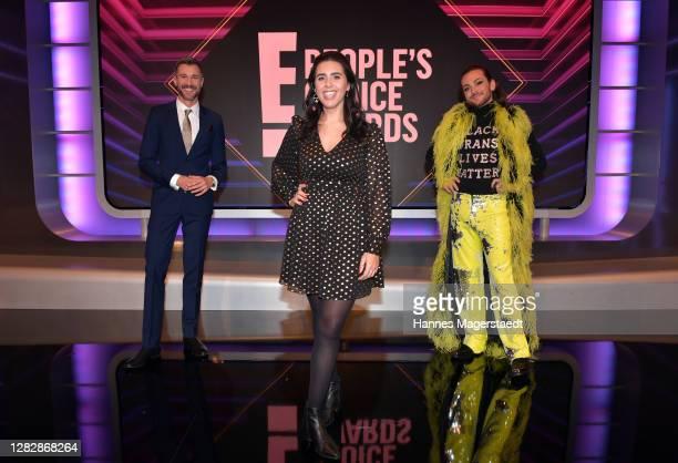 "Host Jochen Schropp, Ariana Barborie receives the ""German Influencer of 2020"" and Riccardo Simonetti receives the ""German Personality of 2020"" as..."