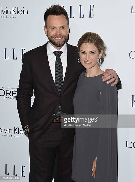 Host Joel McHale and Sarah Williams arrive at the 22nd Annual ELLE Women In Hollywood Awards at Four Seasons Hotel Los Angeles at Beverly Hills on...