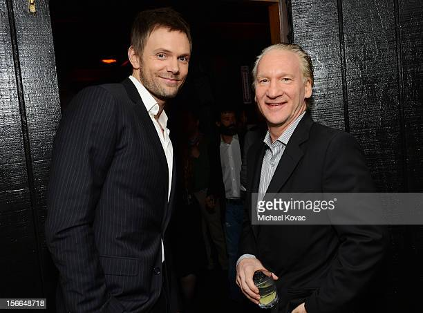Host Joel McHale and TV personality Bill Maher attend Variety's 3rd annual Power of Comedy event presented by Bing benefiting the Noreen Fraser...