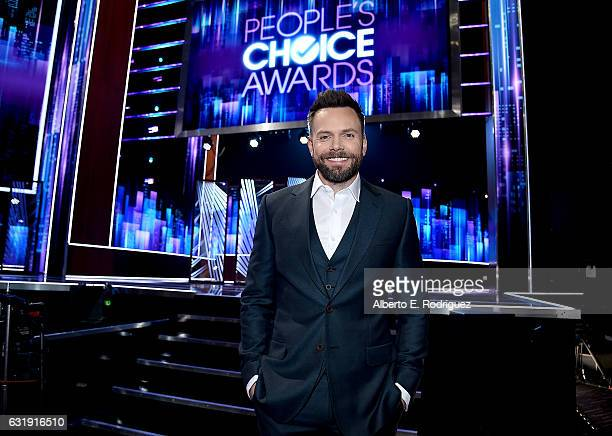 Host Joel McHale attends the People's Choice Awards 2017 press day at Microsoft Theater on January 17 2017 in Los Angeles California