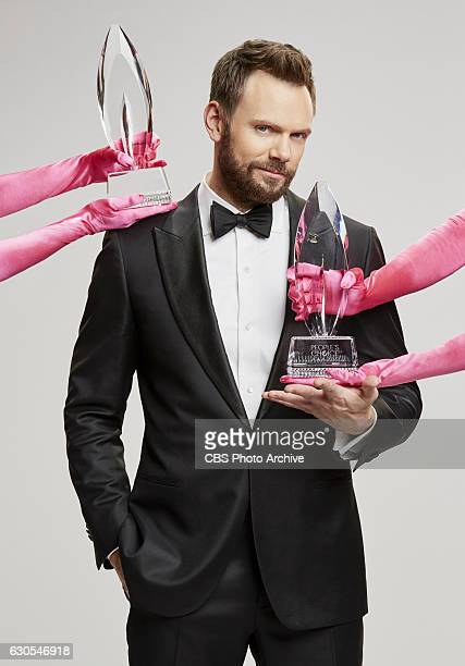 Host Joel McHale of the PEOPLE'S CHOICE AWARDS 2017 from the Microsoft Theater LA Live Wednesday Jan 18 scheduled to air on the CBS Television Network