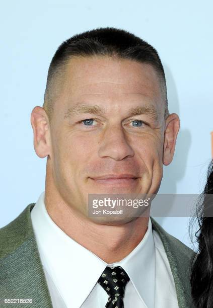 Host John Cena attends Nickelodeon's 2017 Kids' Choice Awards at USC Galen Center on March 11 2017 in Los Angeles California