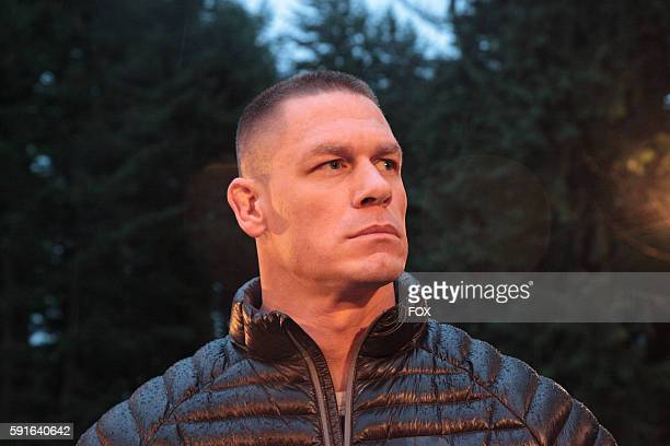 Host John Cena in the 'Tired Out/Over the Falls special twohour season finale of AMERICAN GRIT airing Thursday June 9 on FOX