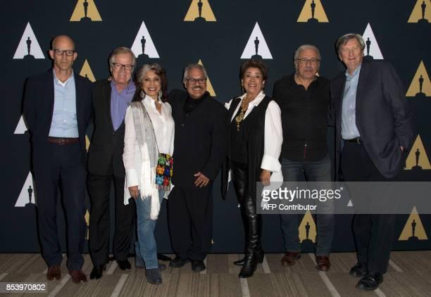 Host John Horn producer Peter Burell actress Rose Portillo director/writer Luis Valdez actor Alma Martinez actor Edward James Olmos and president of...