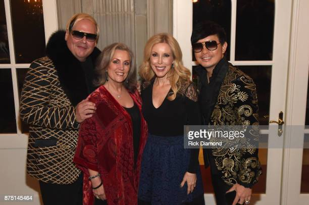 Host Johnathon Arndt Susan Galeas Kimberly Woolen and host Newman Arndt attend ACM Lifting Lives featuring Little Big Town hosted and underwritten by...