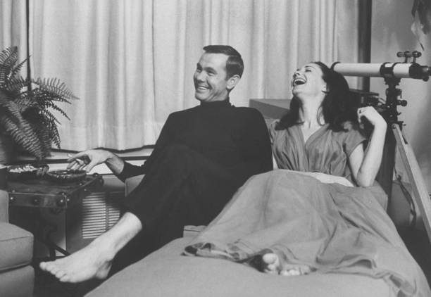 Johnny Carson [& Wife #2] Pictures | Getty Images