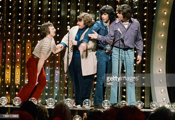 SPECIAL Host Johnny Rivers Episode 3 Pictured The Ace Trucking Company comedy troupe Bill Saluga George Memmoli Michael Mislove Fred Willard