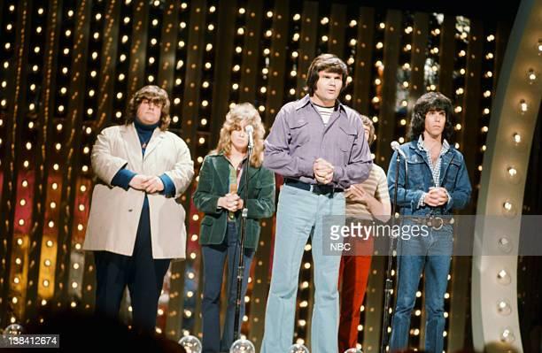 SPECIAL Host Johnny Rivers Episode 3 Pictured The Ace Trucking Company comedy troupe George Memmoli Patti Deutsch Fred Willard Bill Saluga Michael...