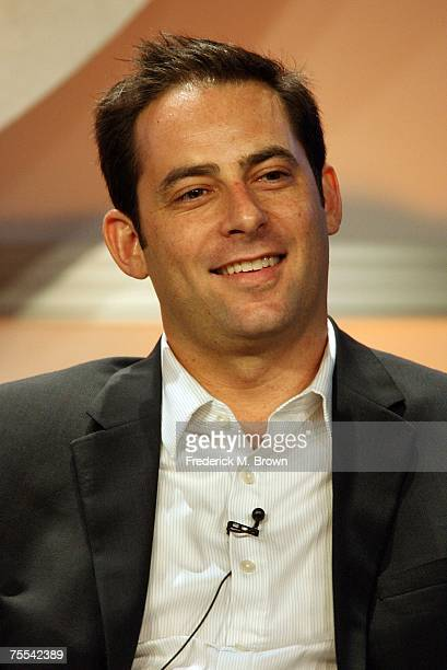 Host Jonathan Karsh speaks for the television show Kid Nation during the CBS portion of the Television Critics Association Press Tour at the Beverly...