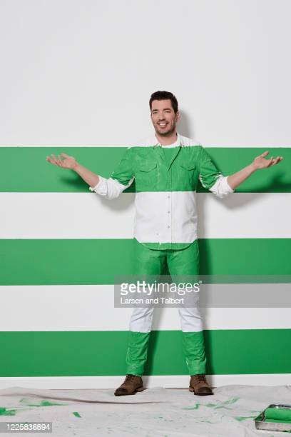 Host Jonathan Scott is photographed for HGTV Magazine on January 9, 2019 in Los Angeles, California.