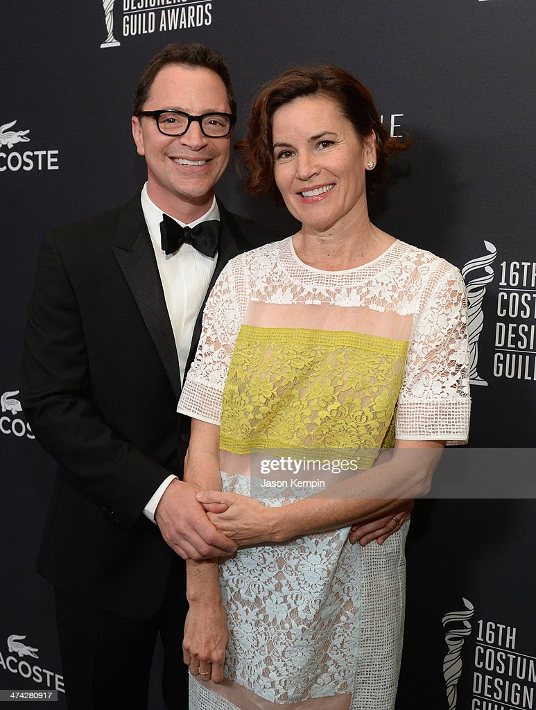 16th Costume Designers Guild Awards With Presenting Sponsor Lacoste - Red Carpet : News Photo