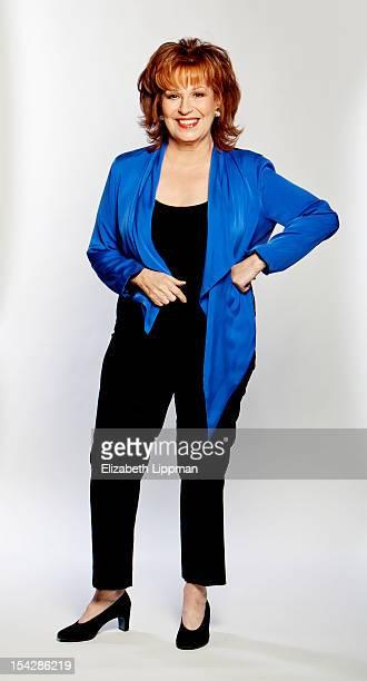 TV host Joy Behar is photographed for Ad Week on September 26 2012 in New York City