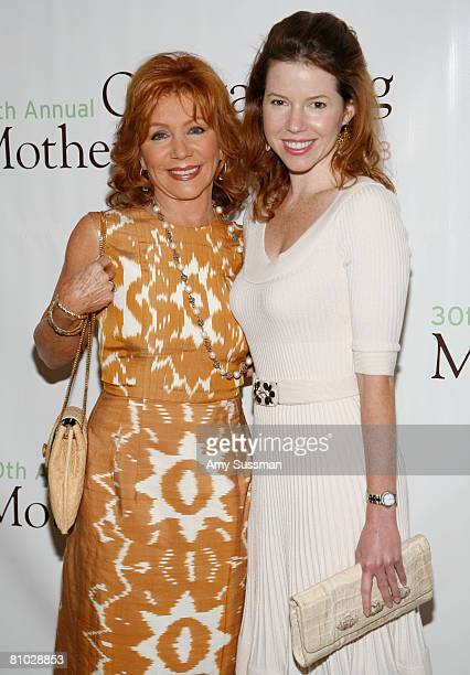 Host Joy Philbin and Joanna Philbin attend the 30th Annual Outstanding Mother Awards at The Pierre New York Hotel on May 8 2008 in New York City