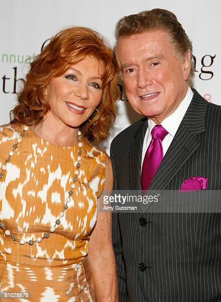 Host Joy Philbin and Regis Philbin attend the 30th Annual Outstanding Mother Awards at The Pierre New York Hotel on May 8 2008 in New York City