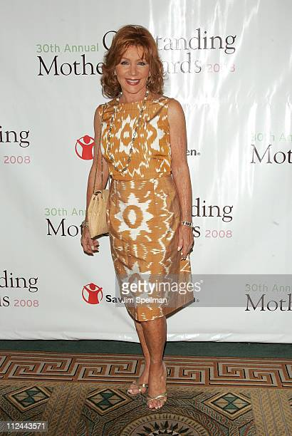 Host Joy Philbin attends the 30th Annual Outstanding Mother Awards at The Pierre Hotel on May 8 2008 in New York City