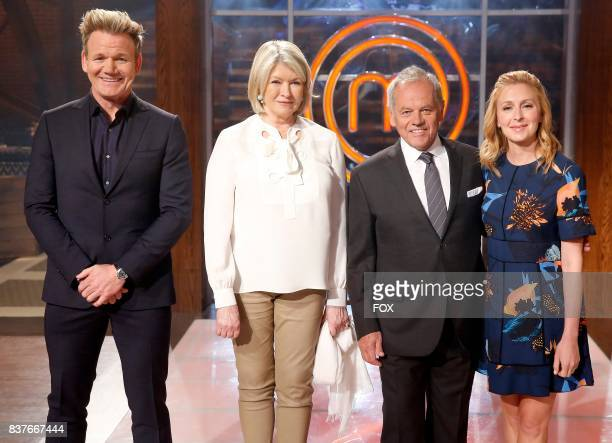 Host / Judge Gordon Ramsay guest judge Martha Stewart guest judge Wolfgang Puck and judge Christina Tosi in the allnew twohour Junior Edition The...