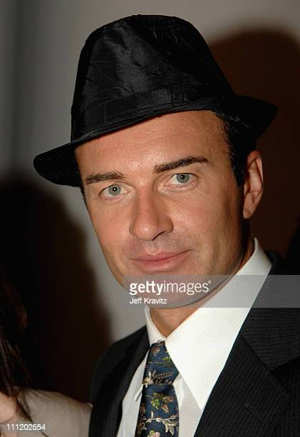 Host Julian McMahon backstage during the 2007 World Music Awards held at the Monte Carlo Sporting Club on November 4 2007 in Monte Carlo Monaco