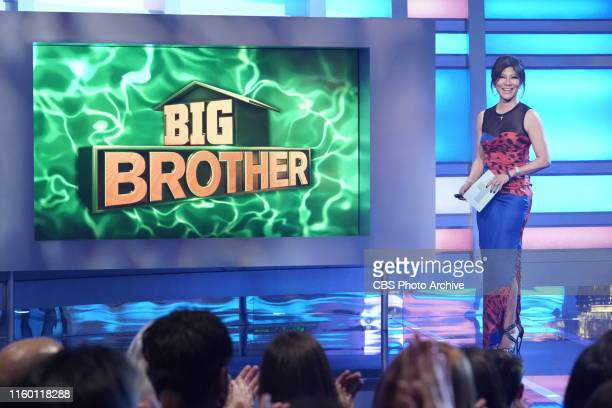 Host Julie Chen Moonves on the fifth live eviction on Big Brother. BIG BROTHER airs Sundays and Wednesdays ; and Thursdays , featuring the live...