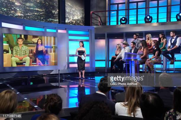 Host Julie Chen Moonves talks to the Jury onf BIG BROTHER on the season finale, Wednesday, Sept. 25 on the CBS Television Network.