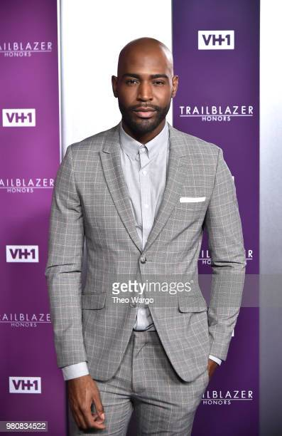 Host Karamo Brown attends VH1 Trailblazer Honors 2018 at The Cathedral of St. John the Divine on June 21, 2018 in New York City.