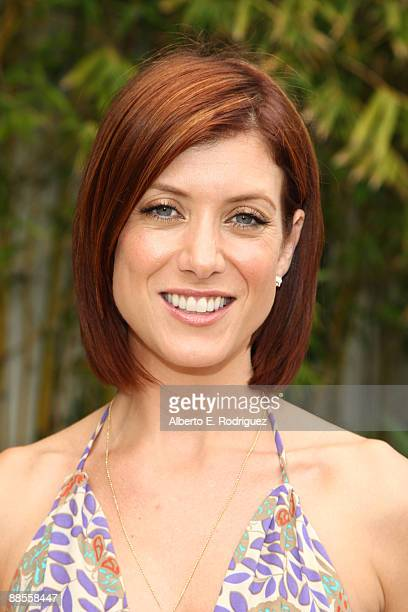 Host Kate Walsh attends the La Mer and Oceana celebrate world oceans day with Kate Walsh at a private residence on June 6 2009 in Beverly Hills...