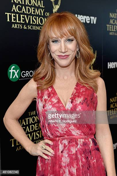 Host Kathy Griffin attends The 41st Annual Daytime Emmy Awards at The Beverly Hilton Hotel on June 22 2014 in Beverly Hills California