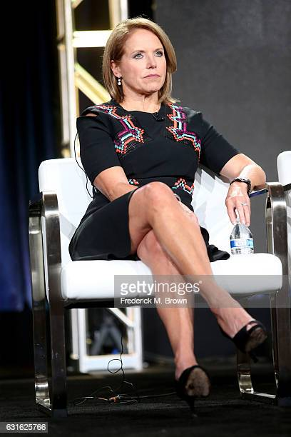 Host Katie Couric of the series 'Gender Revolution A Journey With Katie Couric' speaks onstage during the National Geographic portion of the 2017...