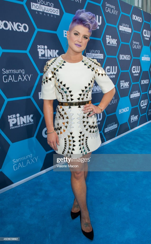 Host Kelly Osbourne arrives at the 16th Annual Young Hollywood Awards at The Wiltern on July 27, 2014 in Los Angeles, California.